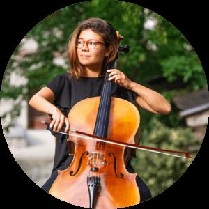 Erika Italiani, insegnante di violoncello
