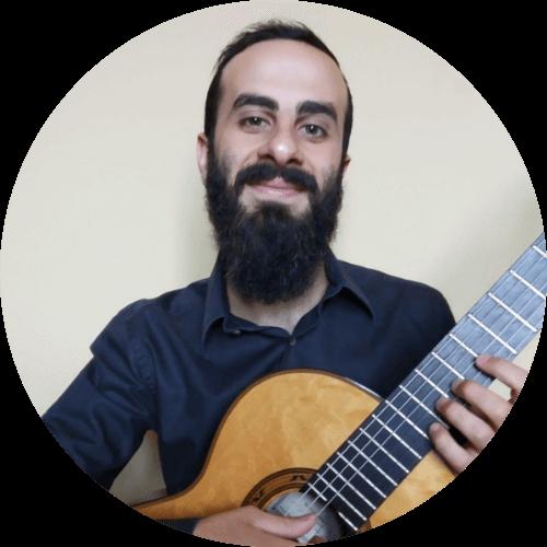 Luca Scofano, insegnante di chitarra