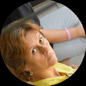 Marta Checchi, vicepresidente dell'associazione, membro del direttivo, ballerina, danzaterapeuta, insegnante di teatrodanza