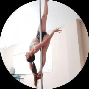 Martina Nencioni, insegnante di ginnastica e pole dance