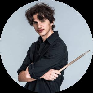 Tiziano Pratesi, insegnante di batteria